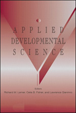 Applied Developmental Science