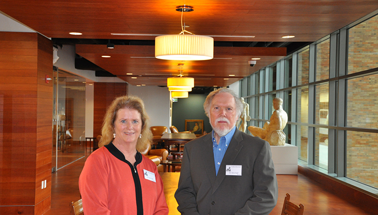 Photo of Jan and Terry Todd in the Stark Center