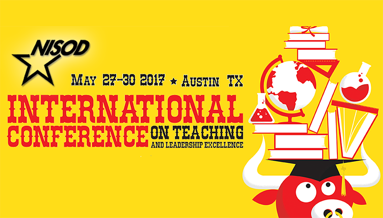 Banner image for NISOD International Conference on Teaching and Leadership Excellence, Austin, TX May 27-30, 2017