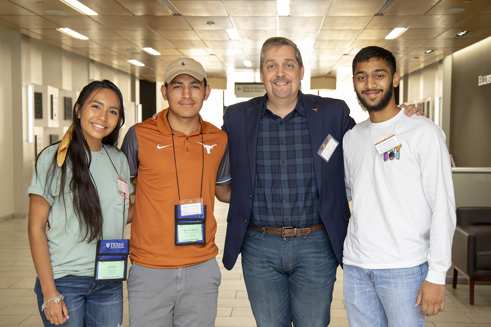 Dean Charles Martinez with Promising Scholars