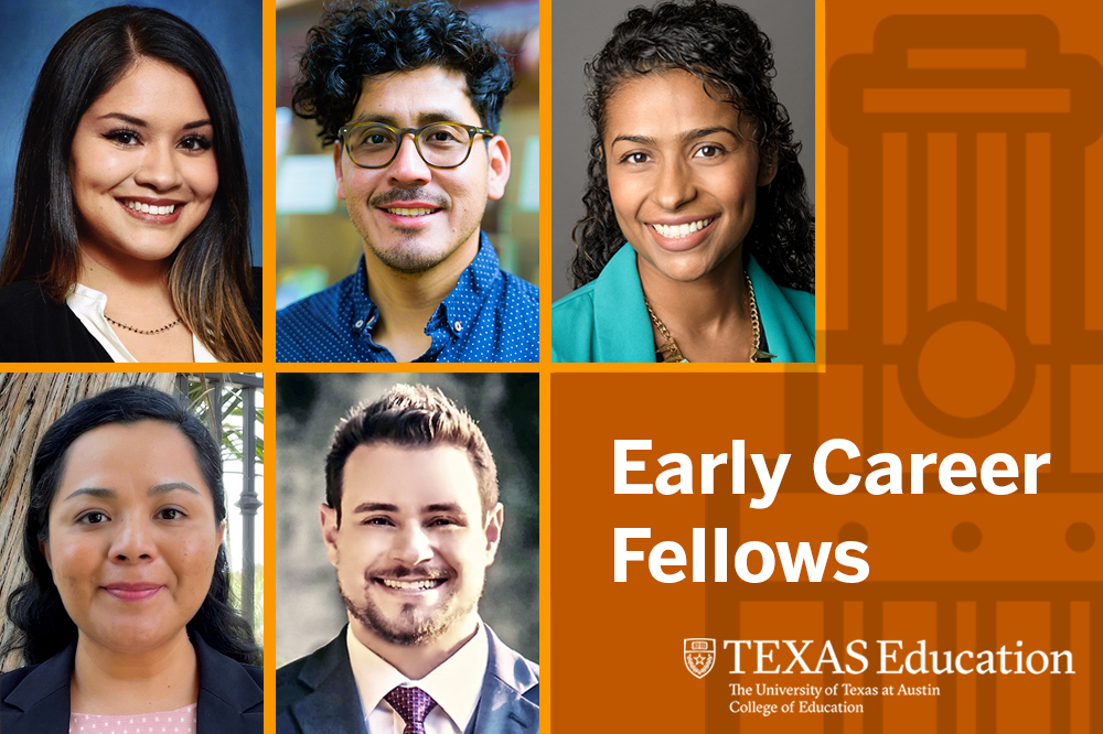 Photo collage of the Early Career Fellows for 2021