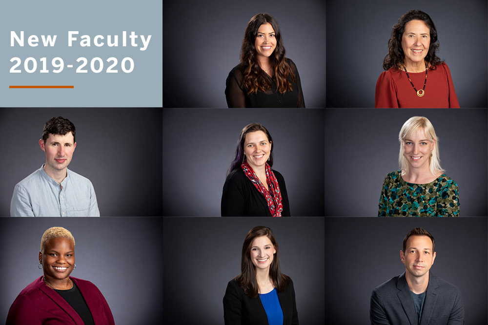 new faculty 2019-2020