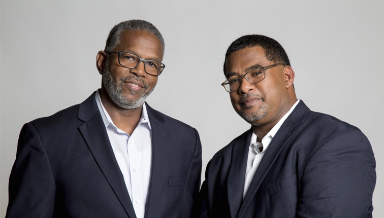 Photo of Dr. Louis Harrison and Dr. Anthony Brown