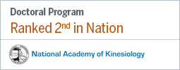 National Academy of Kinesiology Ranking Graphic