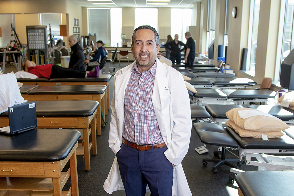 Photo of Matthew Camarillo, M.D. B.S. '04, Kinesiology and Health Education