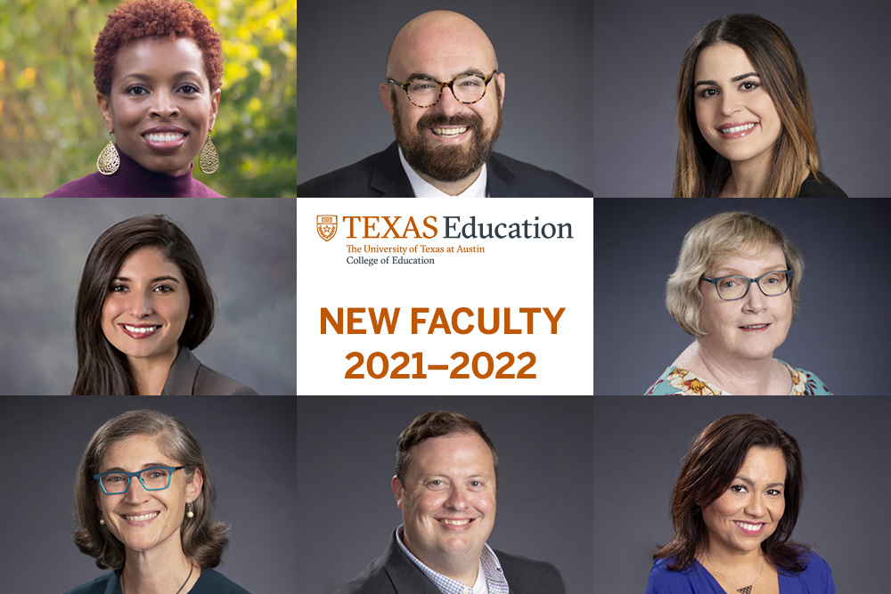 Collage of new college of education faculty for 2021-22