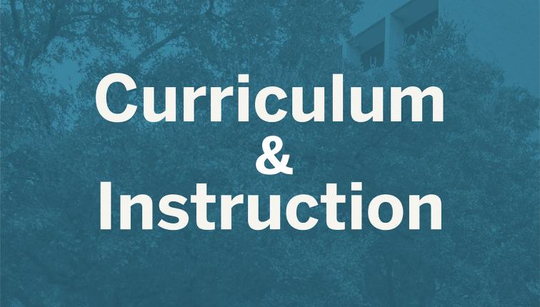 Logo for Curriculum and Instruction