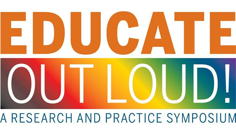 Wordmark: Educate Out Loud! A research and practice symposium