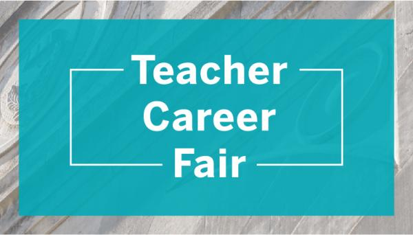 Wordmark: Teacher Career Fair