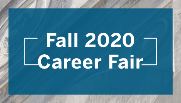 Wordmark: Fall 2020 Career Fair