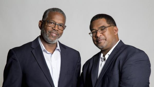 Photo of Drs. Louis Harrison and Anthony Brown