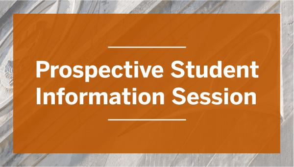 Logo for Prospective Student Information Session