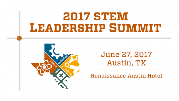 Logo for STEM Leadership Summit, June 27, 2017