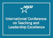 Wordmark: NISOD International Conference on Teaching and Leadership Excellence