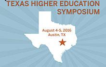 Logo for 7th Annual Texas Higher Education Symposium
