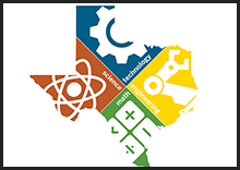 Logo representing Science, Technology, Engineering, and Math