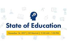 State of Education logo