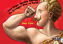 Strong as Sandow book event illustration