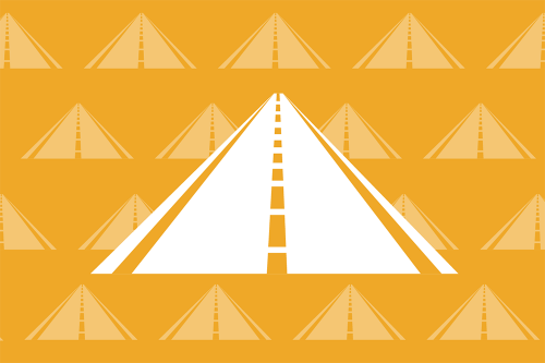 Illustration of a road
