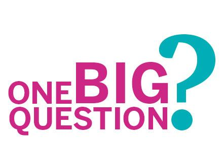 One Big Question logo