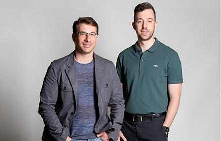 Photo of Aaron Rochlen and Matthew Chester