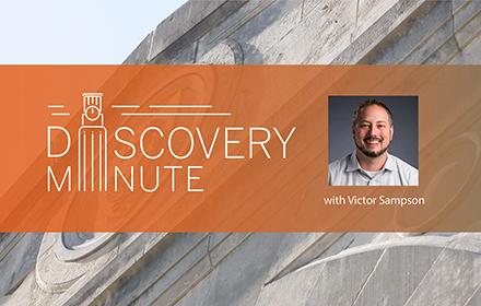 Logo for Victor Sampson Discovery Minute