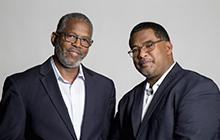Photo of Professors Harrison and Brown
