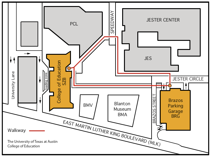 Sanchez Building Map