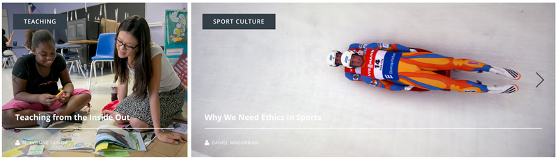 Teaching from the Inside out and Why We Need Ethics in Sports